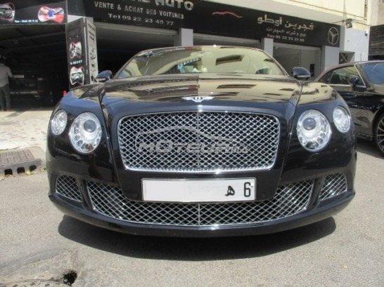 Bentley Continental d'occasion au maroc