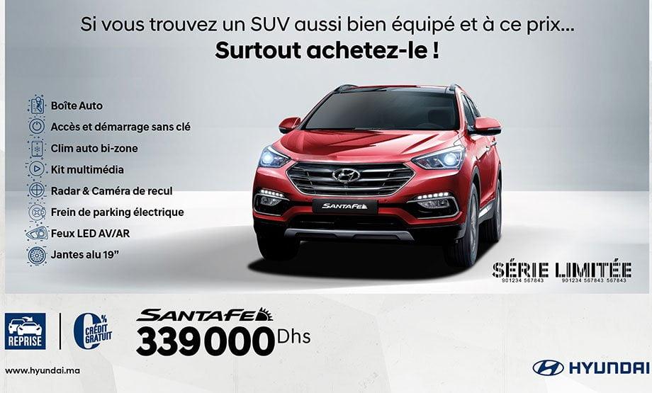 Hyundai Ix55 neuve du maroc