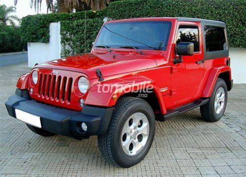 Jeep Wrangler occasion du maroc