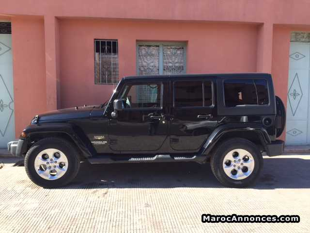 Jeep Wrangler Unlimited d'occasion maroc