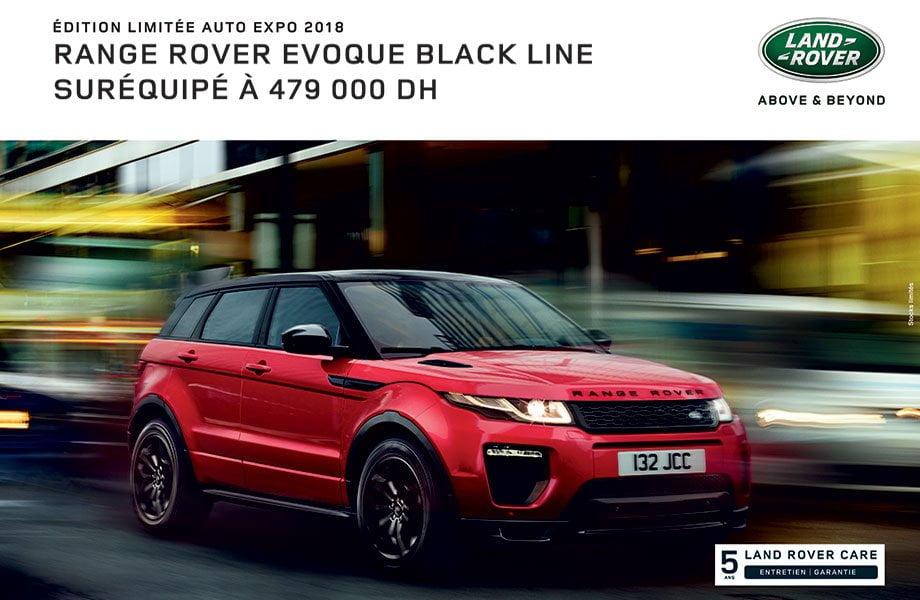 Land-rover Range Rover Evoque neuve maroc