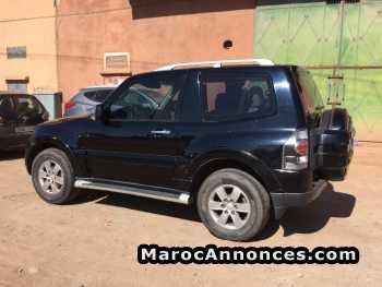 Mitsubishi Montero occasion au maroc