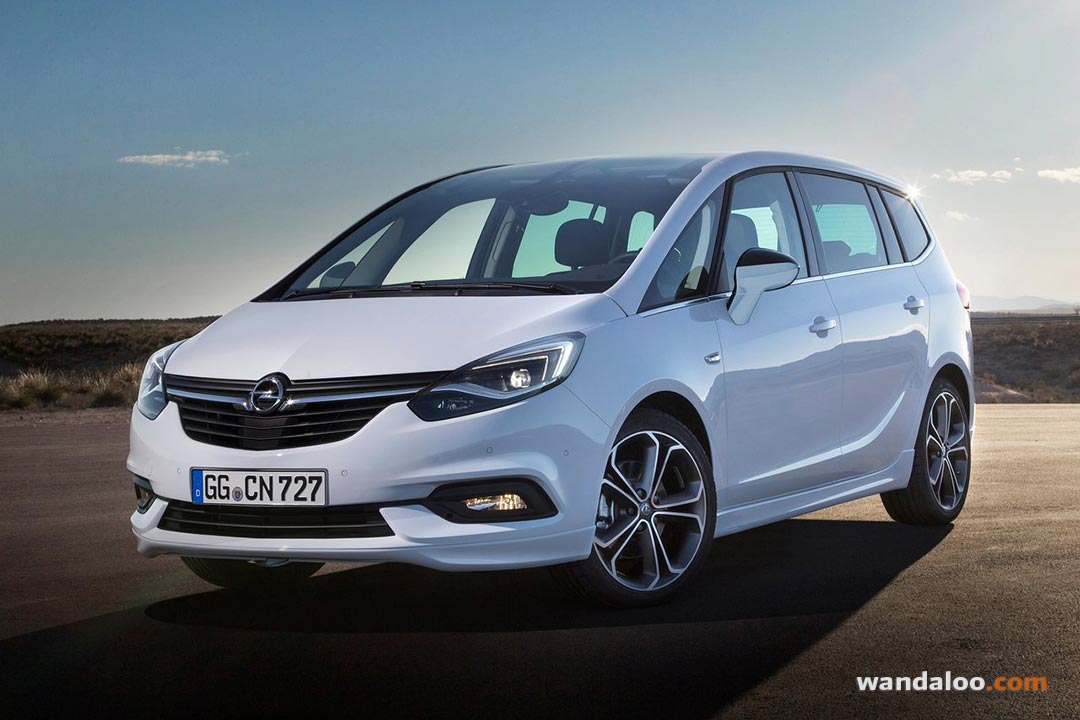 Opel Zafira neuve au maroc