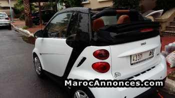 Smart Cabrio occasion au maroc