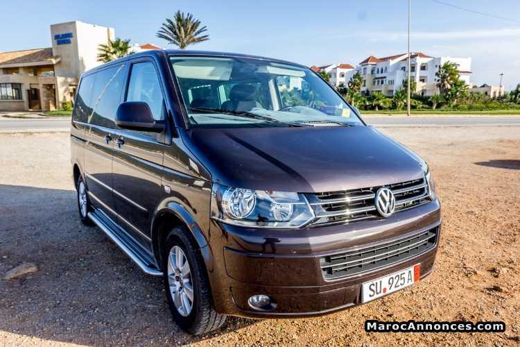 Volkswagen Caravelle d'occasion maroc