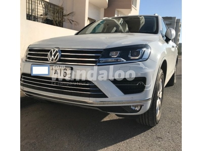 Volkswagen Touareg d'occasion maroc